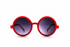 Stylish red sunglasses. Stock Photography
