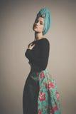 Stylish refined lady Stock Photography