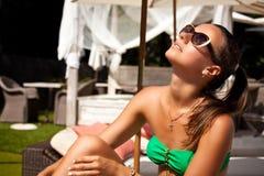 Stylish relaxation Royalty Free Stock Images