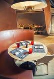 Stylish  restaurant Stock Images