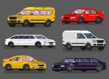 Stylish Retro Car Royalty Free Stock Images