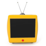Stylish Retro Flat LCD Monitor Stock Image