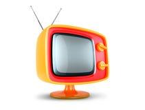Stylish retro TV. Stock Images