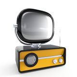 Stylish retro TV Stock Photos