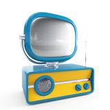 Stylish retro TV Royalty Free Stock Photography