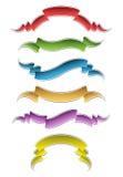 Stylish Ribbons Stock Photography