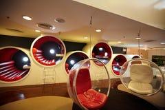 The stylish round chairs Stock Photo