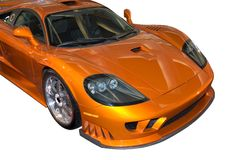 Stylish Saleen Sports Car Royalty Free Stock Photos
