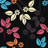 Stylish seamless pattern with colorful floral bouquet. Can be used for design fabric, greeting cards, covers, linen, tile and more creative designs royalty free illustration
