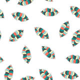 Stylish seamless pattern. Seamless transparent background with colorful lips. Fashion and beauty seamless kiss pattern for textile. Fabrics, paper, package Royalty Free Stock Photos