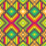 Stylish Seamless Tribal Pattern for Textile Design Royalty Free Stock Photo
