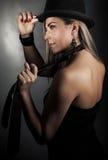 Stylish seductive woman Stock Image