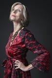 Stylish Senior Woman Stock Image