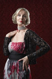 Stylish Senior Woman Stock Photography