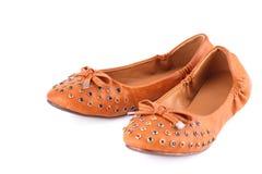 Stylish shoes Stock Photography