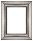 Stylish Silver Frame Stock Images
