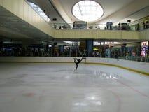 Stylish Skater at SM Mall of Asia. `s indoor skating ring. Bay City, Pasay, Metro Manila, Philippines Royalty Free Stock Photography