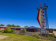 Stylish Skyliner Motel at Route 66 - STROUD - OKLAHOMA - OCTOBER 16, 2017 Stock Photos