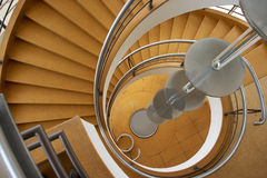 Stylish Spiral Staircase Royalty Free Stock Image