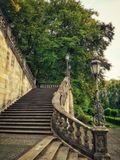 Stairs. Stylish stairs in the Munich city Royalty Free Stock Photos