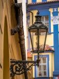Stylish street lantern royalty free stock photo