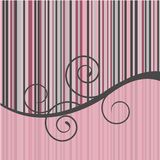 Stylish stripe background Stock Photography