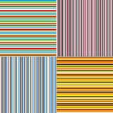 Stylish stripe backgrounds (seamless) Stock Photography