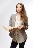 Stylish student girl. Stock Photo