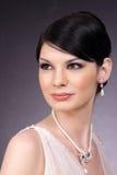Stylish Studio Portrait Stock Photo