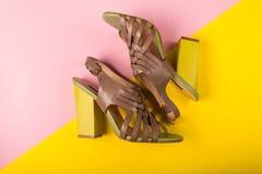 Stylish summer fashion essentials Stock Photos
