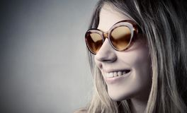 Stylish sunglasses Stock Photography