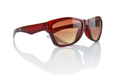 Stylish sunglasses. Isolated on the white background Royalty Free Stock Images