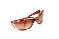 Stylish sunglasses isolated. On the white background Stock Images