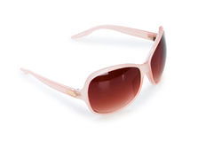 Stylish sunglasses isolated on the white Stock Photos