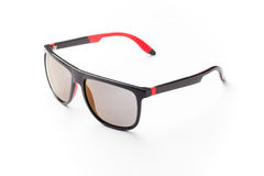 Stylish sunglasses isolated on white background cutout Royalty Free Stock Images