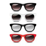 Stylish sunglasses vector illustration Royalty Free Stock Images