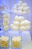 Stylish sweet table for event party Stock Photos