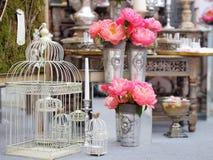 Stylish sweet table Stock Photos