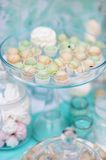 Stylish sweet table Royalty Free Stock Photos