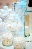 Stylish sweet table for wedding party Royalty Free Stock Photo