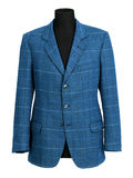 Stylish tailored blue jacket on a mannequin Stock Images