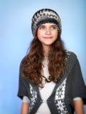 Stylish teen model Stock Photography