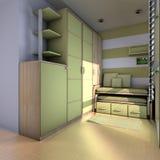 Stylish Teen Room Stock Image