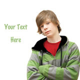 Stylish Teenage Boy Royalty Free Stock Photo