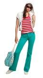 Stylish teenage girl Stock Image