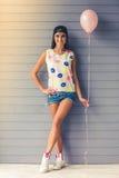 Stylish teenage girl Royalty Free Stock Images