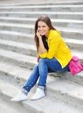 Stylish teenager girl portrait Stock Image