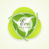 Stylish text for Eco Friendly. Stock Images