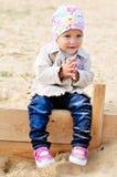 Stylish toddler Royalty Free Stock Images