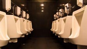 Stylish Toilet. Modern design interior of stylish Toilet Stock Photos